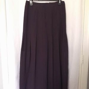 Halogen Purple maxi skirt, size 4